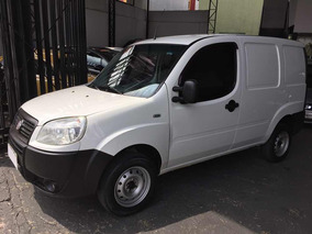 Fiat Doblo Cargo 1.4 Flex 2012 Branco Porta Lateral