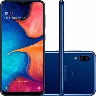 Smartphone Samsung Galaxy A20 32gb Dual Chip - Azul