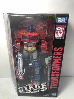 Transformers War For Cybertron Siege Optimus Prime Voyager