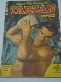 Tarzan Nº 27 De 1953 Lex Barker Ebal Gibi Original Ótimo