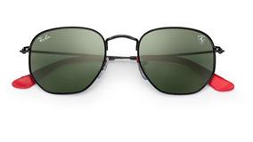 Óculos Ray-ban Rb3548 Hexagonal Ferrari Envio 24h + Brinde