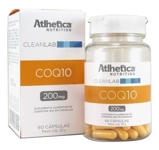 Coenzima Coq10 200mg 60 Caps Atlhetica Envio Imediato
