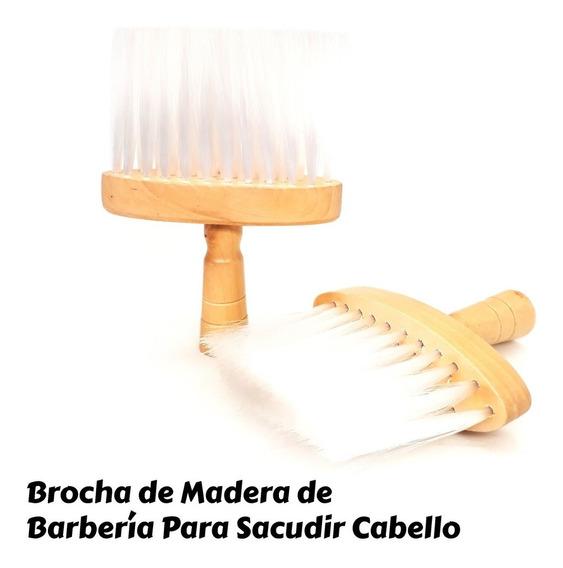 Brocha De Madera De Barberia