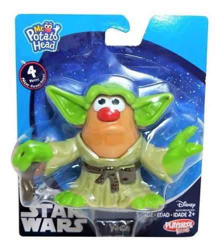 Potato Head Boneco Cabeça Batata Star Wars Yoda Mestre Jedi