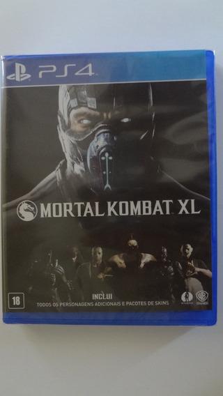 Mortal Kombat X Ps4 Mídia Física - Novo E Lacrado