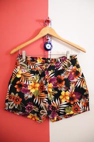 Shorts Florido (cintura Alta)
