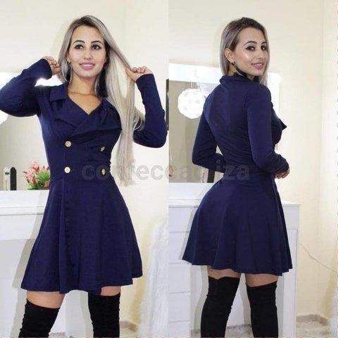 Vestido Feminino Barato Blusa Frio Outono/inverno 2019 Oferta Kit 2 Pcs