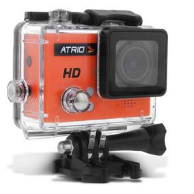 Câmera De Ação Atrio Fullsport Cam Hd Tela Lcd Usb Microsd
