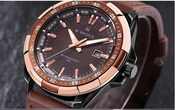 Relógio Masculino Naviforce 9056 Alta Qualidade