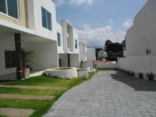 Casa En Condominio En Lomas De Atzingo / Cuernavaca - Ber-305-cd