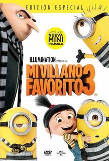 Dvd - Mi Villano Favorito 3