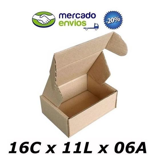 50 Caixas De Papelão 16 X 11 X 06 Correio N°0 Auto Pac Sedex