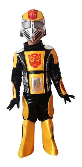 Disfraz Transformers Bumblebee Niño Talla 2 A 8
