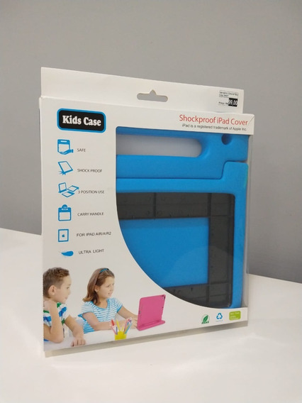Capa iPad Air/air 2 Kids Shockproof Azul