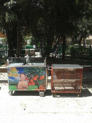 Carro, Barra De Jugos, Naranjero, Naturales, Medicinales