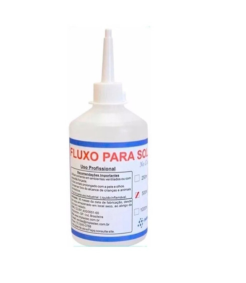 Fluxo Para Solda No Clean 500ml Implastec Sd4533