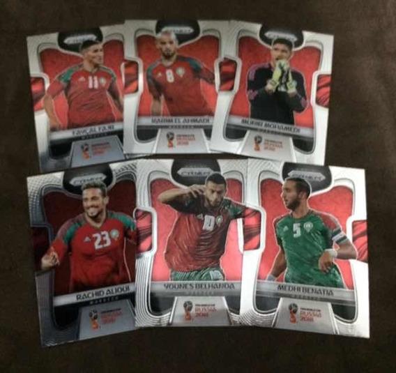 Cards Copa 2018 Panini Prizm (lote Marrocos)