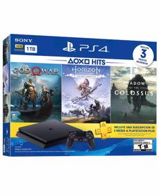 Consola Ps4 Slim 1 Tera Bundle Hits 4 Gameland