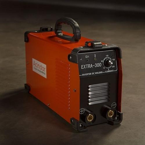 Acindar Soldadora Inverter Extra 300 Amp + Pinzas