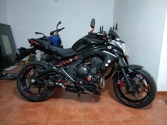 Moto Kawasaki 600cc Er6n Modelo 2013