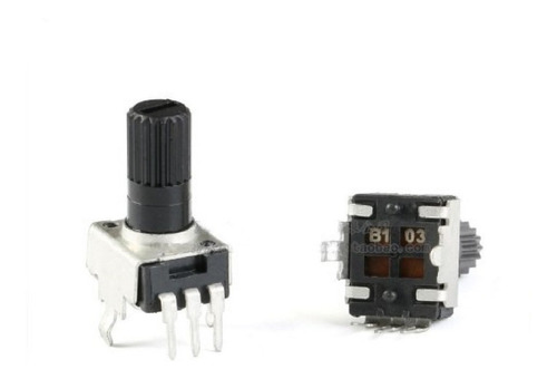 Imagen 1 de 2 de Potenciometro 5k Rv09 Montaje Vertical Arduino -pdiy-
