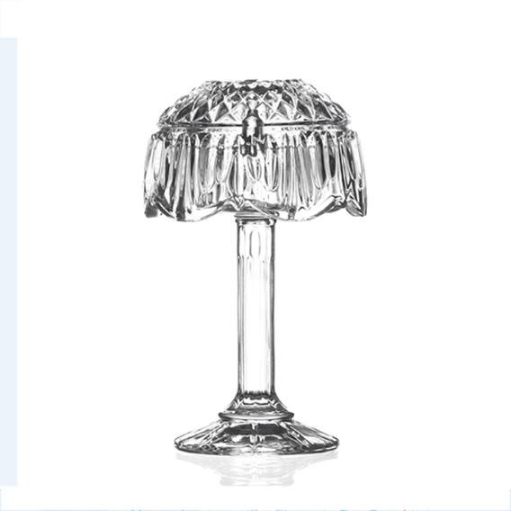 Abajur De Vidro Transparente Decorativo