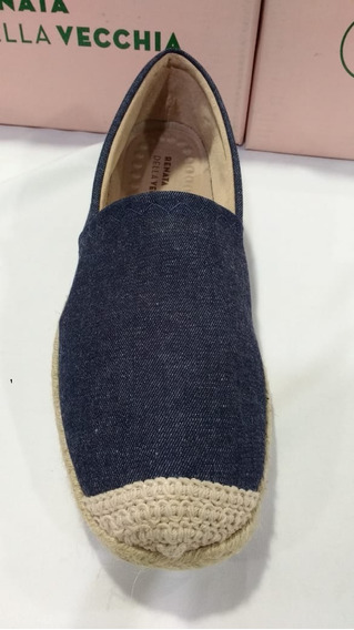 Alpargata Feminino Numeros Especiais Azul Jeans 12829.71