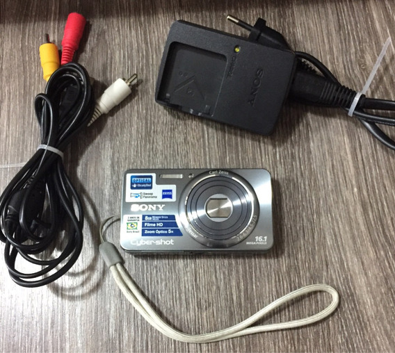 Câmera Digital Sony 16.1 Mega Pixels.