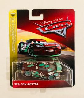 Carrinho Com Temática Cars Da Disney. Marca Mattel