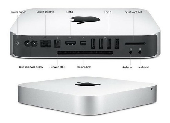 Mac Mini I7 2012 Teclado Trackpad Magic Mouse Com Mobee