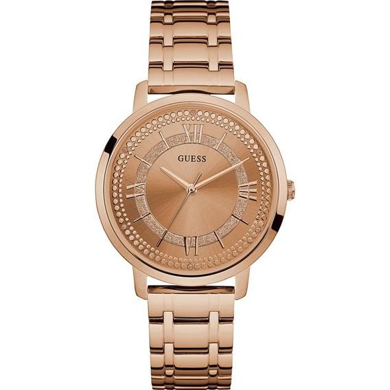 Relógio Guess Feminino Rosê Luxo Original Nota 92635lpgdra3