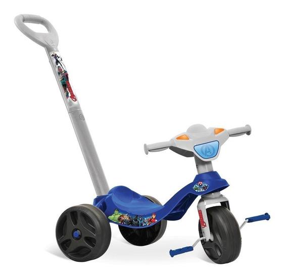 Triciclo Velotrol Infantil Criança Menino Vingadores Promo