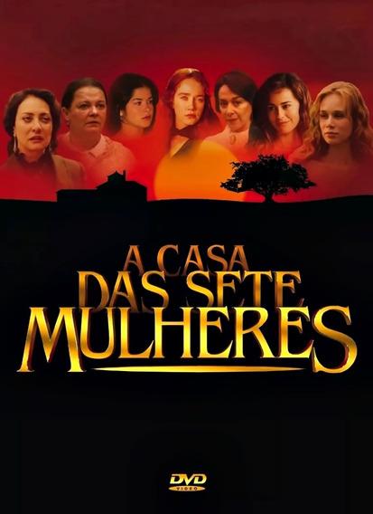 A Casa Das Sete Mulheres Novela Completa 5 Dvds !!