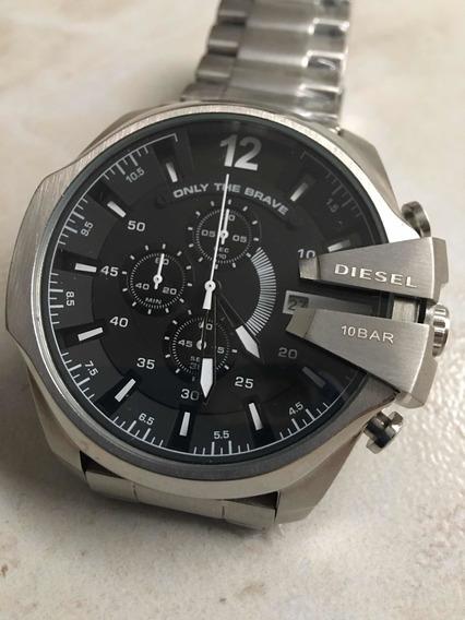 Relógio Importado Prateado Top De Linha