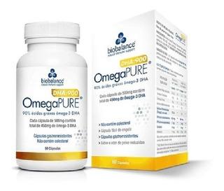 Ômega Pure - Ômega 3 Dha:900 - 60 Cápsulas - Biobalance