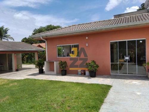 Chácara Com 4 Dormitórios À Venda, 1000 M² Por R$ 1.170.000,00 - Vale Verde - Valinhos/sp - Ch0640