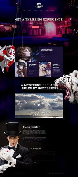 Template Monster Joomla Para Teatro, Circus E Cinema - 58147
