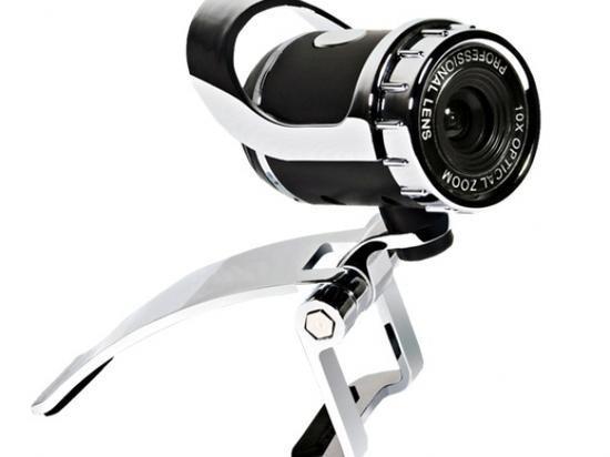 Webcam Mo C329 Com Microfone Otima Imagem