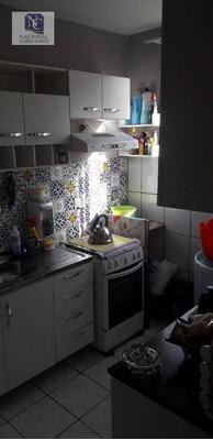 Apartamento Com 2 Dormitórios À Venda, 50 M² Por R$ 170.000 - Parque Das Nações - Santo André/sp - Ap8746