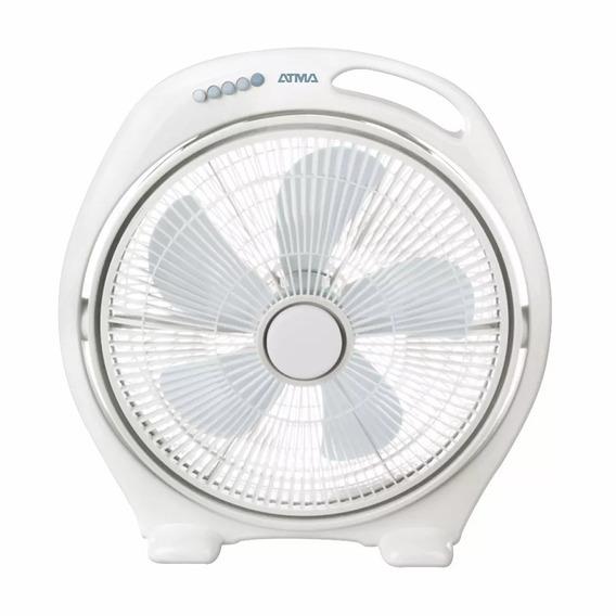 Ventilador Turbo De Pie 16 Pulgadas Atma Vta1615b Blanco