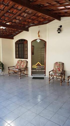 Casa Com 2 Dormitórios À Venda, 96 M² Por R$ 550.000,00 - Canto Do Forte - Praia Grande/sp - Ca0156
