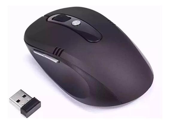 Mouse Sem Fio Óptico Usb Wi-fi Para Notebook E Pc