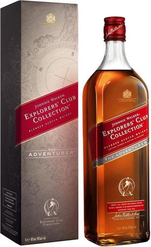 Imagen 1 de 7 de Whisky Johnnie Walker Explorers The Adventurer 1l En Estuche