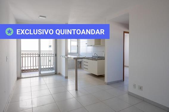 Apartamento No 6º Andar Com 2 Dormitórios E 1 Garagem - Id: 892957785 - 257785