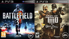 Army Of Two The Devils + Battlefield 3 Ps3 Psn Midia Digital