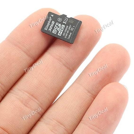 Cartão De Memória Kingston 32gb Flash Micro Sdhc