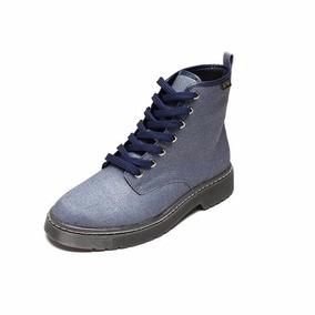 Bota Coturno Glitter Azul Vizzano 3055.101