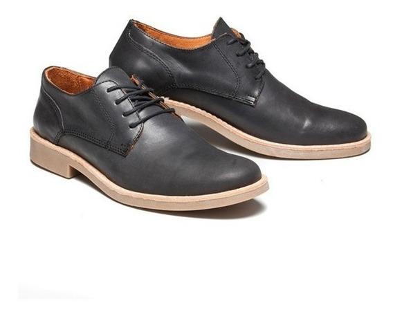 Zapatos Hombre Cuero Marsanto Steward Negro. Store Oficial