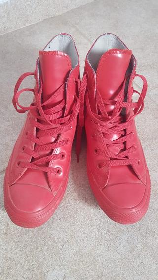 Zapatillas Roja Converse All Start Chuck Taylor Hi Top 37.5