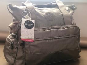 Mochila Kipling Gold Metalica Convertible Handbags